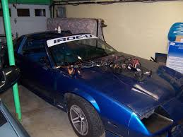 1985 iroc z z28 factory blue paint code third generation f body