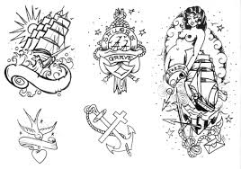 new school tattoo drawings black and white old school and vintage tattos that i love first volumen bear