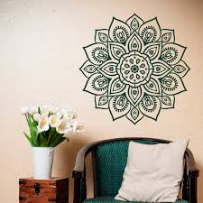 Vinyl Wall Decals For Bedroom Removable Wall Decal Mandala Vinyl Mandala Wall Decal