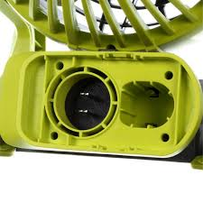ryobi fan and battery ryobi p3320 18v one dual power portable fan tool only fully
