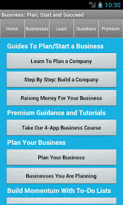 simple business model template business plan u0026 start startup android apps on google play