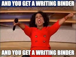 Binder Meme - oprah you get a meme imgflip