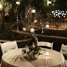 Tree Centerpiece Wedding by Make Your Own Manzanita Wishing Tree Centerpieces Tutorial For