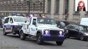 french land rover police tow truck land rover dépaneuse de police youtube