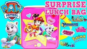 paw patrol surprise lunch bag mashems mlp pokemon unicorno toys