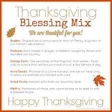 thanksgiving blessing mix printable
