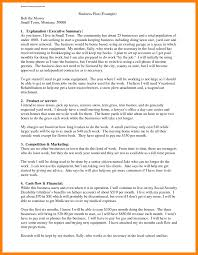 100 will sample template business plan format template
