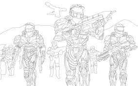 halo wars line drawing by gman963 on deviantart