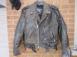 real leather motorcycle jackets first genuine leather motorcycle jacket mens medium distressed