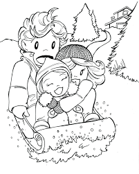 winter coloring sheets free printable pages adults crayola