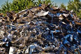 Besi Scrap gambar logam bahan puing sah limbah tempat barang