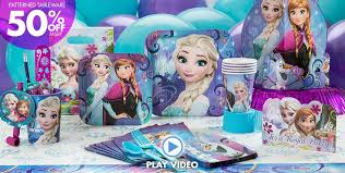 frozen party supplies frozen birthday party ideas party
