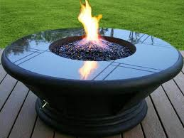 Diy Natural Gas Fire Pit by Portable Gas Fire Pit Garden Outdoor Med Art Home Design Posters