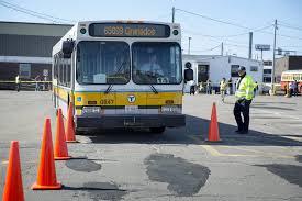 drivers show their skills at mbta roadeo radio boston