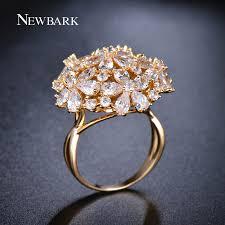 big finger rings images Buy newbark big ring exaggerated flower finger jpg