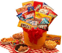 junk food gift baskets custom junk food gift basket a better bloom florist
