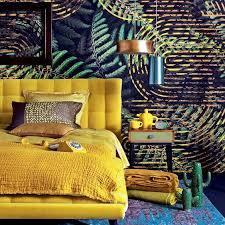 deco chambre exotique jungle tropical miami decoration tendance nature