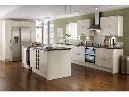 cuisine en bois blanc cuisine blanc et bois cuisine blanche plan de travail bois