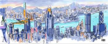 sketching hong kong on an ipad the work of rob sketcherman