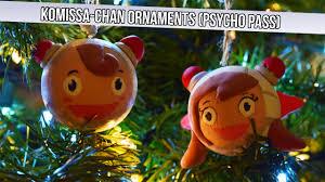 anime decorations diy komissa chan ornaments psycho pass