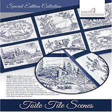 goodesign special editions toile tile sewingmachine