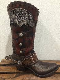 Cowboy Boot Planter by Very Volatile Marcel Cheetah Lace Up Tall Boots U2013 Hilltop Western