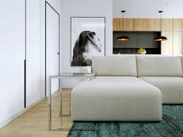 Furniture For Floor Plans Relaxing Color Schemes In 3 Efficient Single Bedroom Apartments