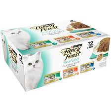 purina fancy feast classic seafood feast collection cat food 12 3