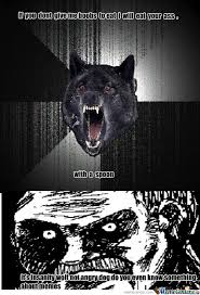 Angry Wolf Meme - rmx angry dog by thememegod meme center