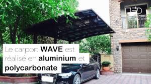 carport design wave aluminium youtube
