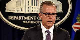 james comey gang of eight mccabe i was fired because of what i witnessed after trump fired
