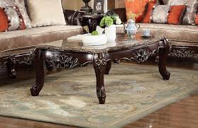 victorian marble top end table victorian marble top coffee table in carved dark brown birch wood