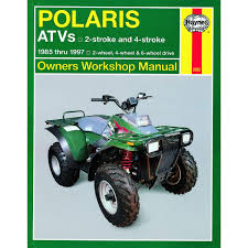 manual haynes for 1991 polaris 250 trail boss 2x4 ebay