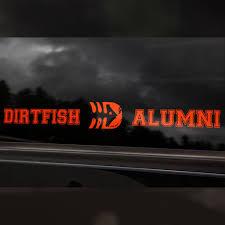 alumni decal alumni decal dirtfish