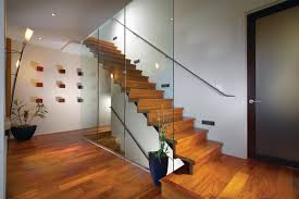 20 glass staircase wall designs with a graceful impact on the