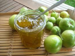 cuisiner les tomates vertes confiture de tomates vertes les recettes de