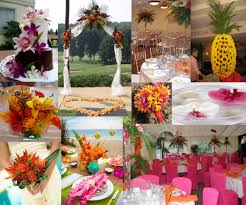 tropical themed wedding pics all inclusive wedding destinations