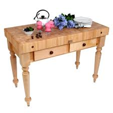 kitchen islands u0026 tables maple top kitchen island with maple base