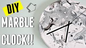 ikea hack diy marble clock carly musleh youtube