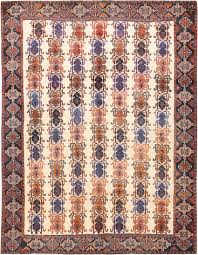Tribal Persian Rugs by Vintage Ivory Background Tribal Persian Afshar Rug 50687 Nazmiyal