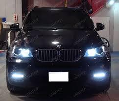 bmw x5 headlights 18w high power led daytime running lights for bmw e70 x5 pre lci