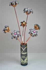 bullet flowers personalized expanded bullet flower birthstone bouquet engraved