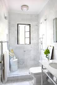 Bathroom Windows In Shower Staggered Marble Shower Tiles Design Ideas