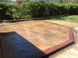 Flagstone Stamped Concrete Pictures by University City Stamped Concrete D U0026b Concrete