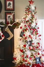 black tree with white decorations grousedays org