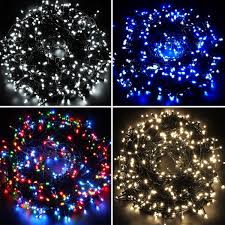 Outdoor Christmas Decorations Europe by Waterproof Fairy Lights 100 200 300 400 500 Led Outdoor
