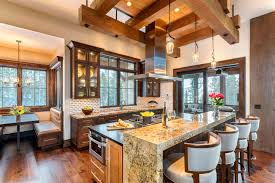 kitchen rooms kitchens and dining rooms for luxury mountain homesblue ribbon