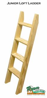 Bunk Bed Ladder Basic Wood Bunk Or Loft Bed Ladders
