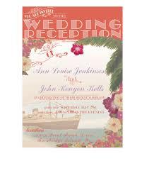 wedding invitations hawaii vintage hawaii