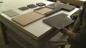 Countertop Tile Quarazon Panel Systems First Grout Free Tile Countertop Youtube